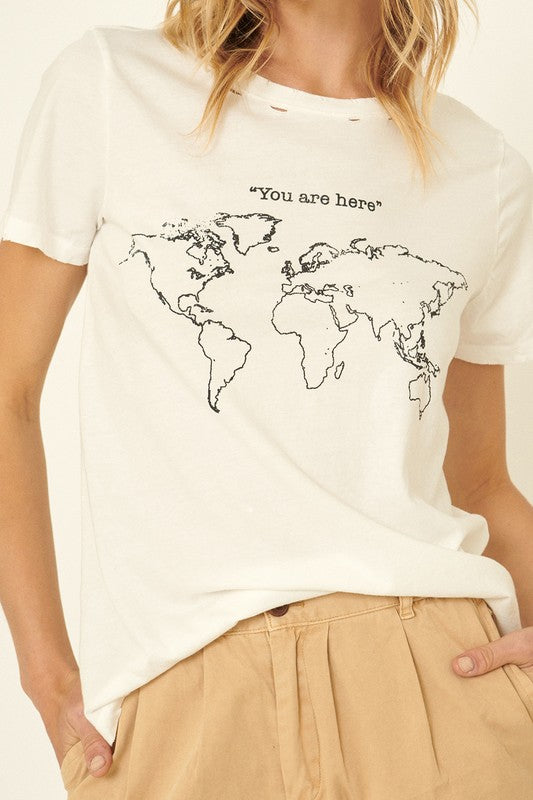 World Map Tee