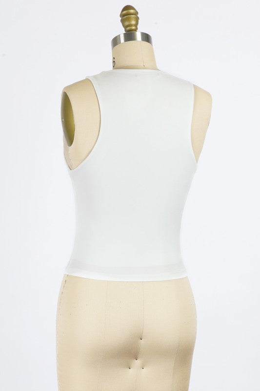 Lyla High Neck Top