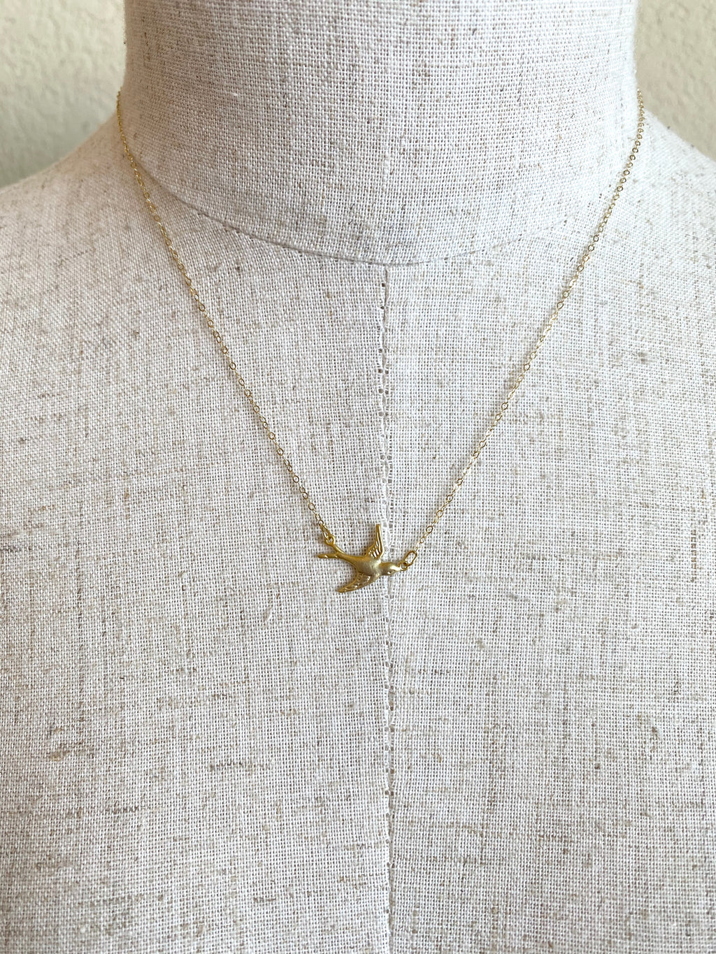 Dainty Dove Necklace