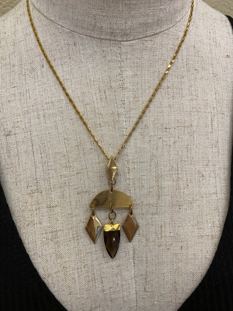 Smoked Quartz Necklace