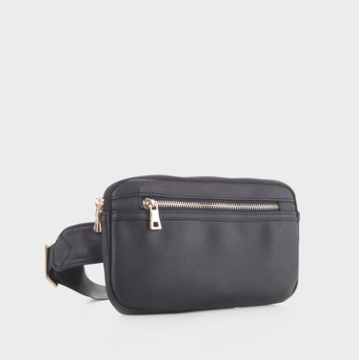 Slim Vegan Leather Fanny Pack