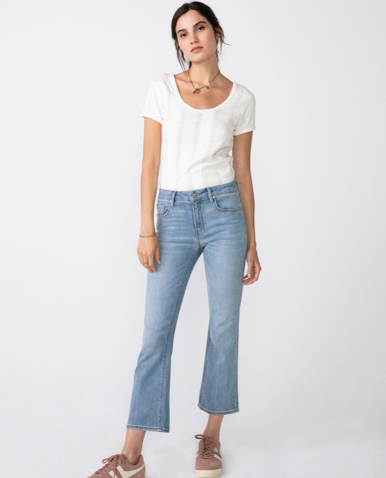 Margaux Demi Flare Jeans
