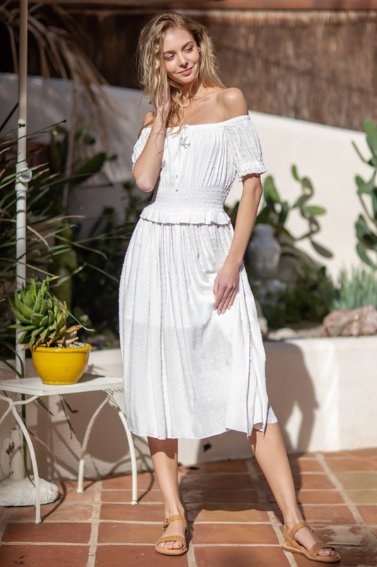 Daydream Off-Shoulder Dress