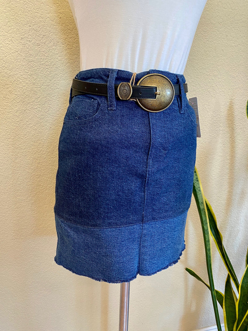 Vintage Inspired Denim Skirt