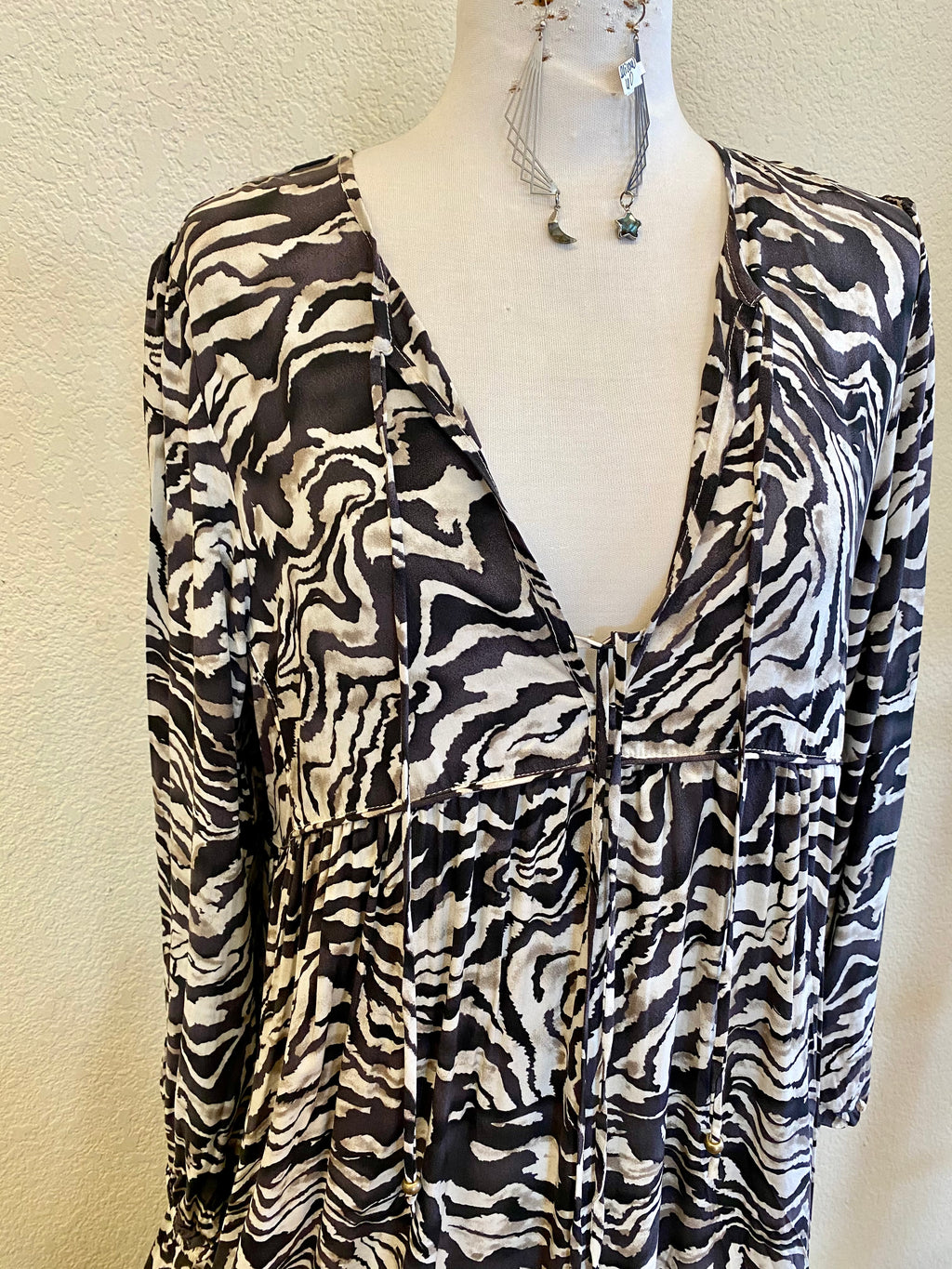 Zebra Statement Dress