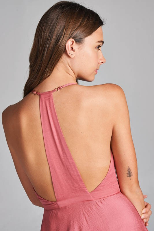 Racerback Mini Dress
