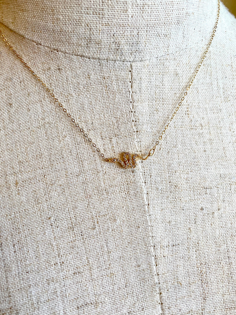 Dainty Serpent Necklace