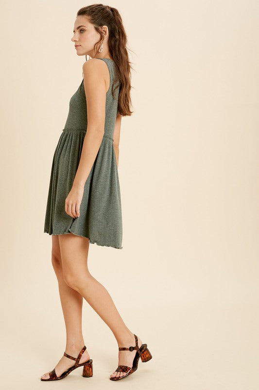 Sleeveless Mini Dress