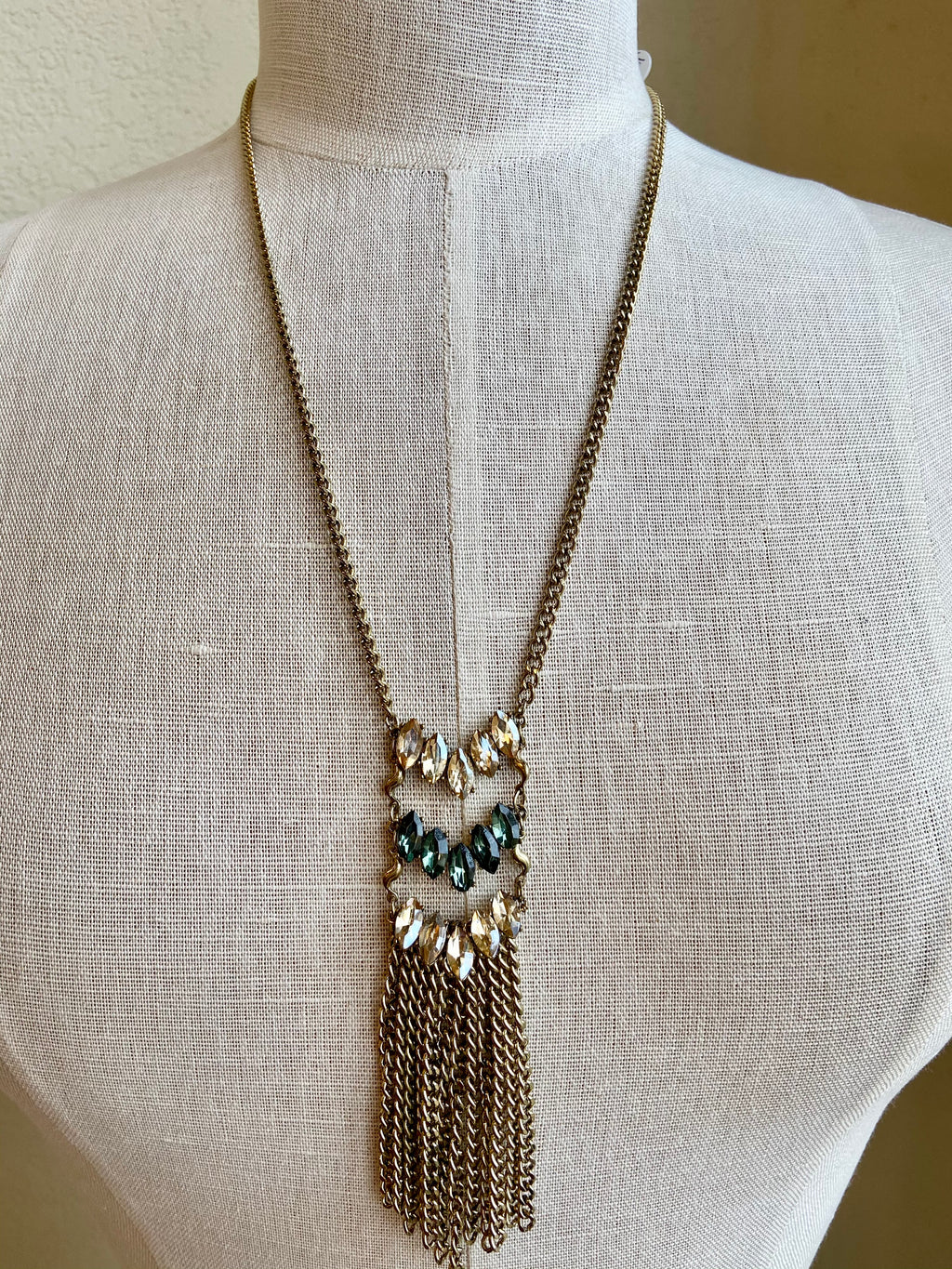 Hidden Gem Statement Necklace