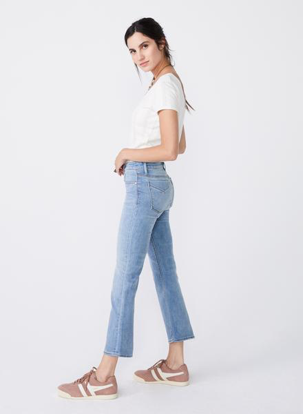 Mid-Rise Cropped Denim