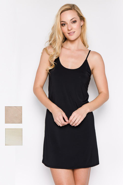 Mid Length Slip Dress