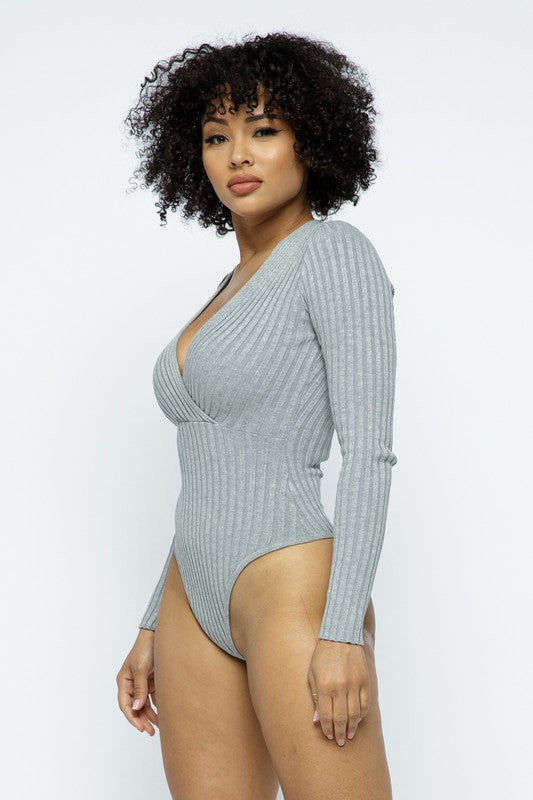 Lindsey Ribbed Bodysuit