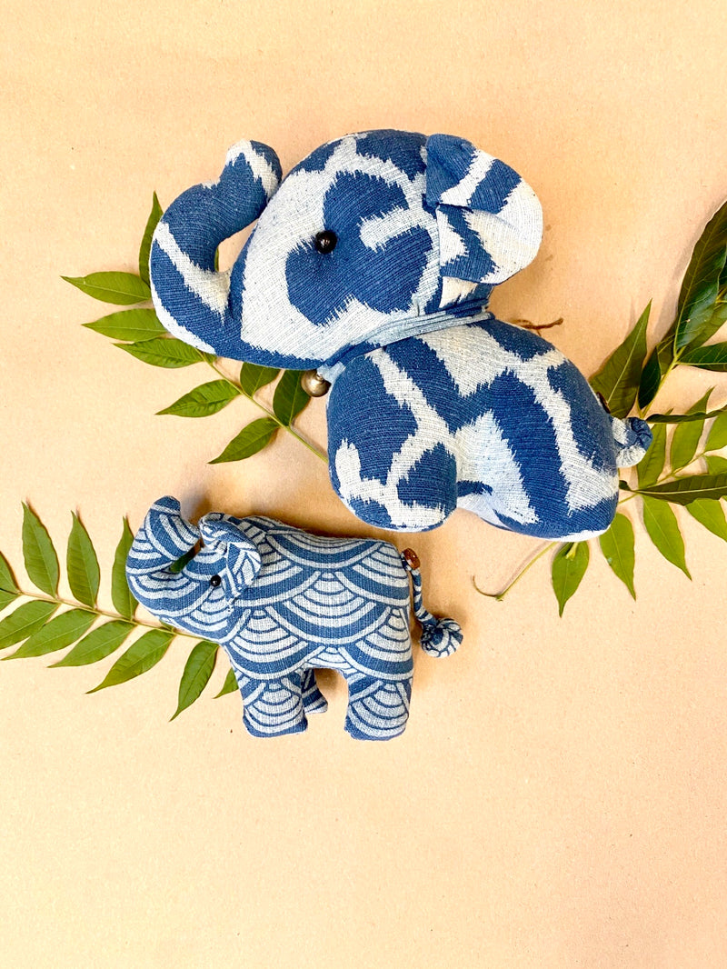 Printed Stuffed Elephant