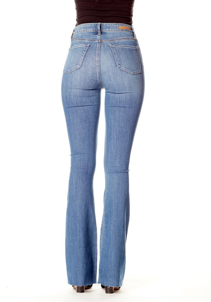 High Rise denim flare (25% off at check out)