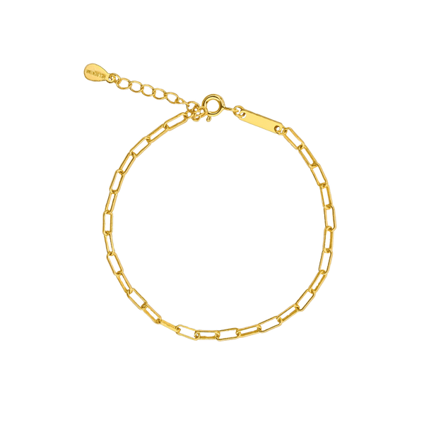 Mini Chain Armband 18K Vergoldet