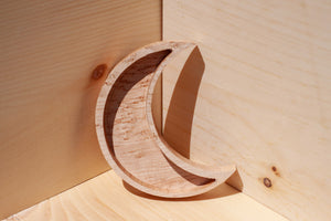 Medium Wooden Moon Dish