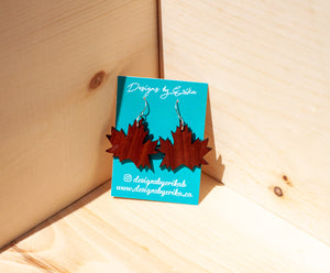 Maple Leaf Dangles