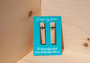 2 Tier Rectangle Studs