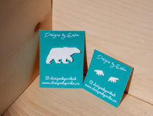 Load image into Gallery viewer, Polar Bear - Earrings