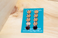 Load image into Gallery viewer, 5 Tier Rose Gold Studs
