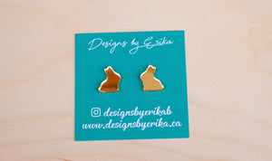 Lindt Chocolate Bunny Studs