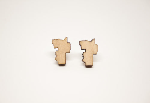 Guelph shaped earrings