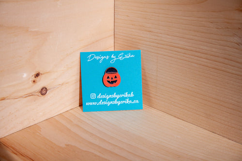 Pumpkin Pail Pin
