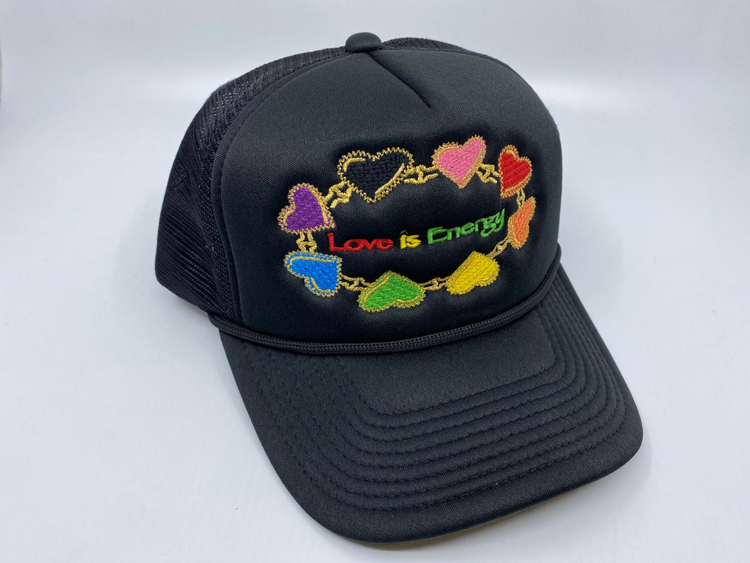 positive message snapback hat