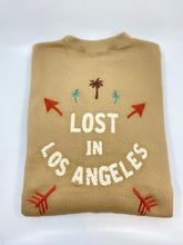 Load image into Gallery viewer, Tan Lost in Los Angles Crew Neck Sweatshirt