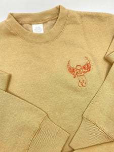 Tan Lost in Los Angles Crew Neck Sweatshirt