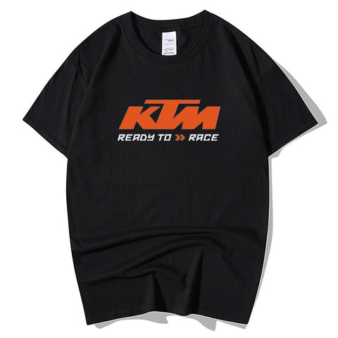 KTM Ready To Race T-Shirt Biker Motorcycle Rider Mens Inspired Racing Bike Cycle T Shirt
