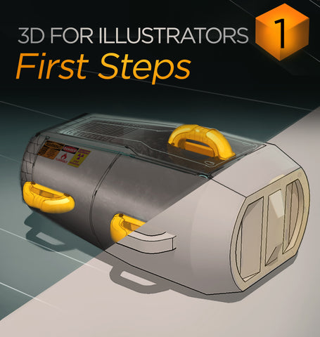 3D For Illustrators 01: First Steps