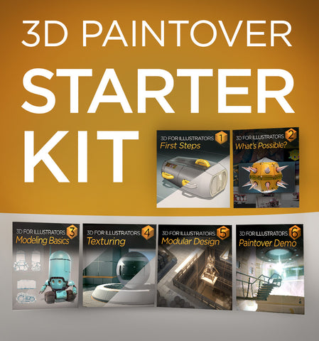 3D Paintover Starter Kit