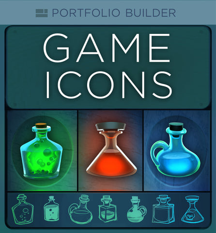 Game Icons (Portfolio Builder)
