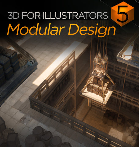 3D For Illustrators 05: Modular Design