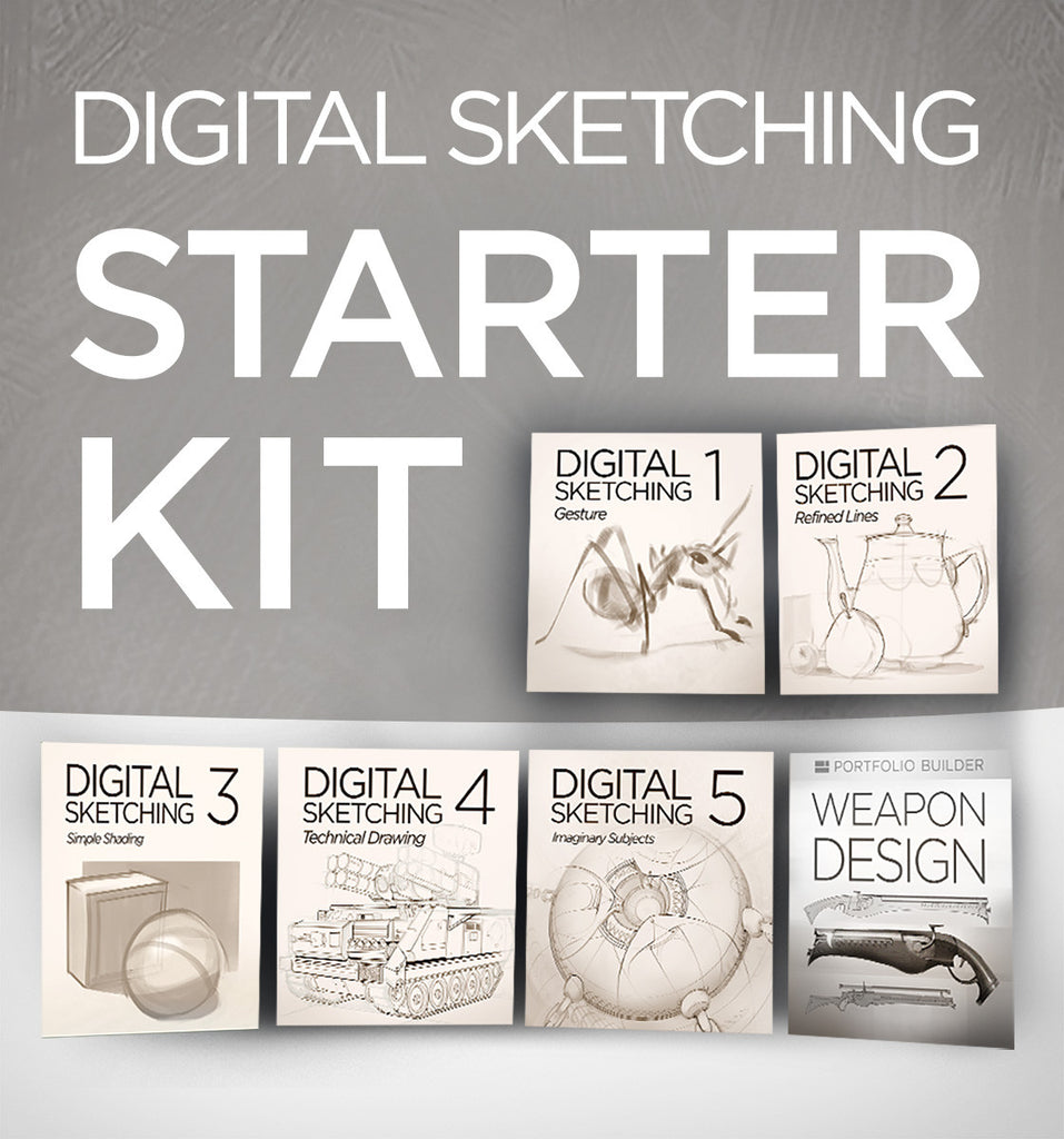 Digital Sketching Starter Kit