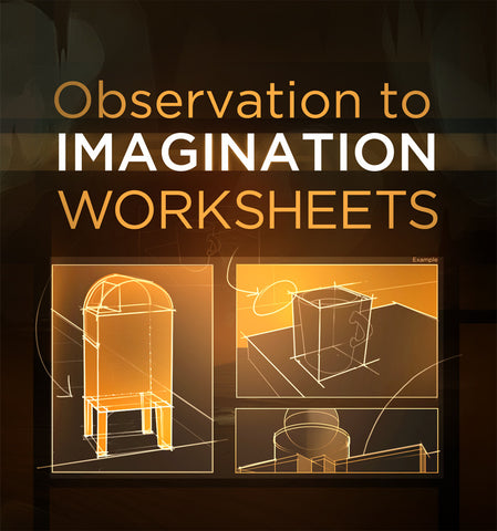 Observation to Imagination - Worksheets