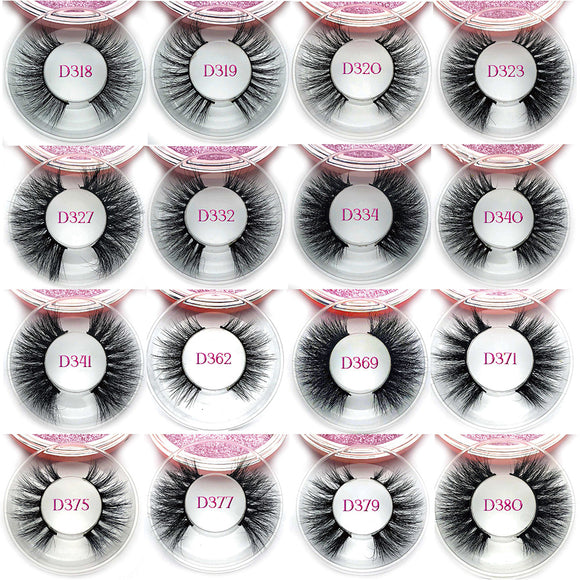 100 pairs 15mm 3D Mink Lashes