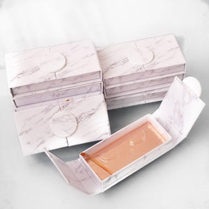 50 Pieces Marble Lash Packaging Boxes