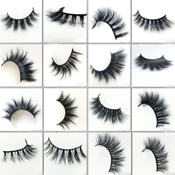 20-2000 Pairs Mink False Eyelashes