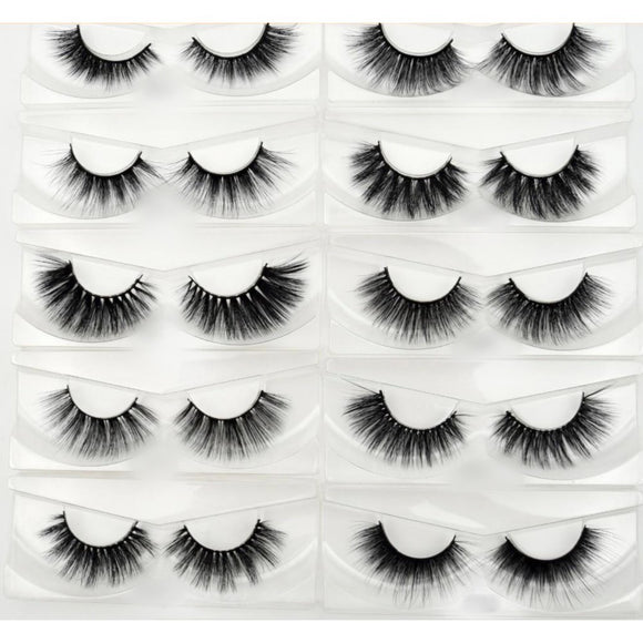 100 Pairs Silk False Eyelashes