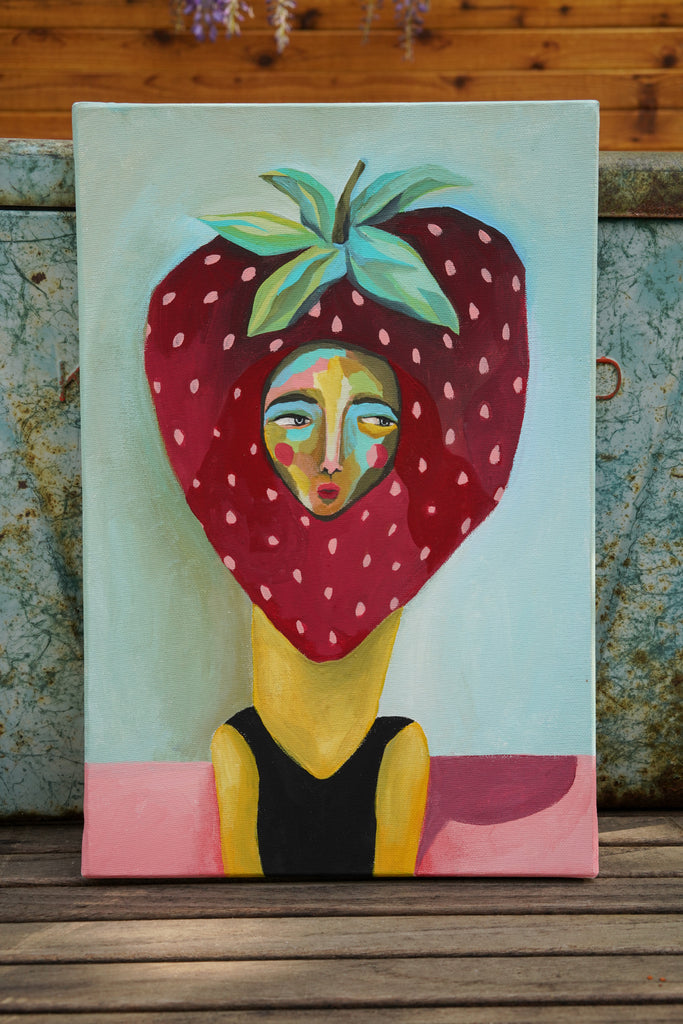 #36 Strawberry Head