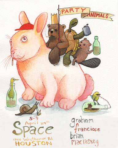 April 29th we are calling all Party Animals to Space Montrose!