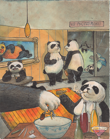 Party Animals Original Panda Bears