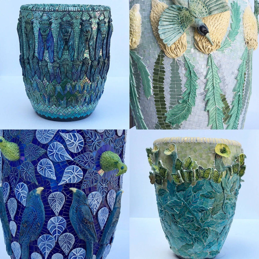 Mosaic Planter Workshop (23 August 2020)