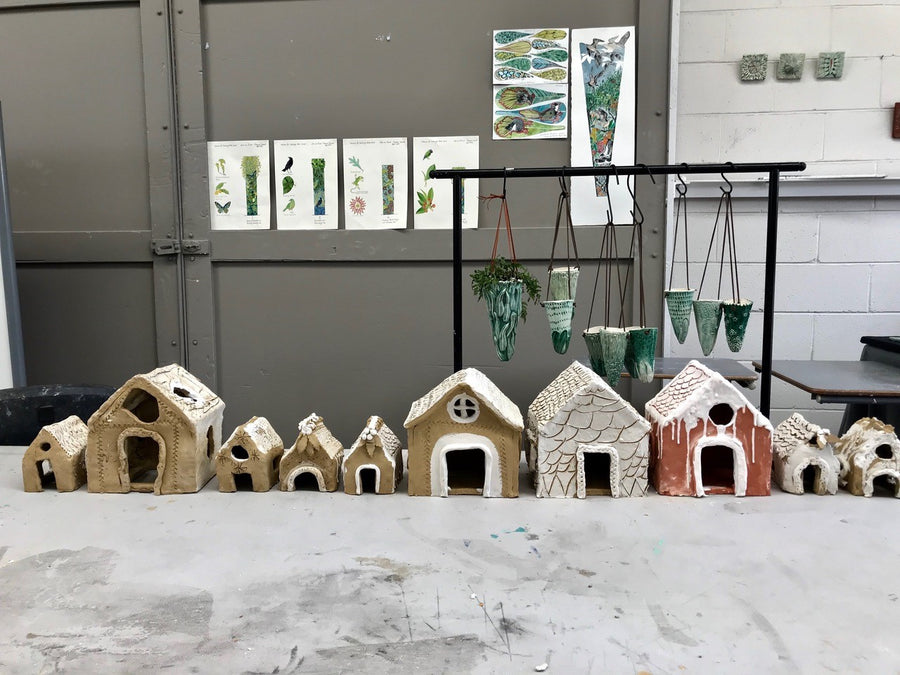 Creative Kids: Clay Gingerbread Houses Workshop (1 December 2019)