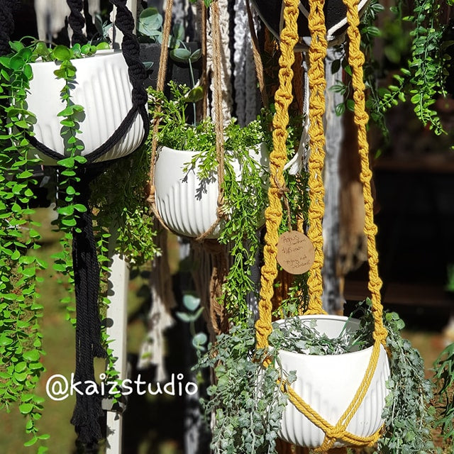 Sip and Make... A Macrame Plant Hanger (18 October 2019)