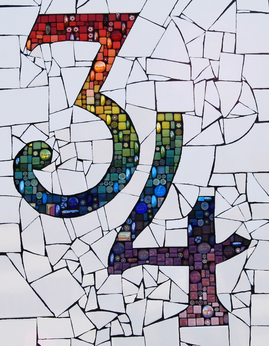 Creative Families: Mosaic House Numbers Workshop (14 & 15 April 2020)