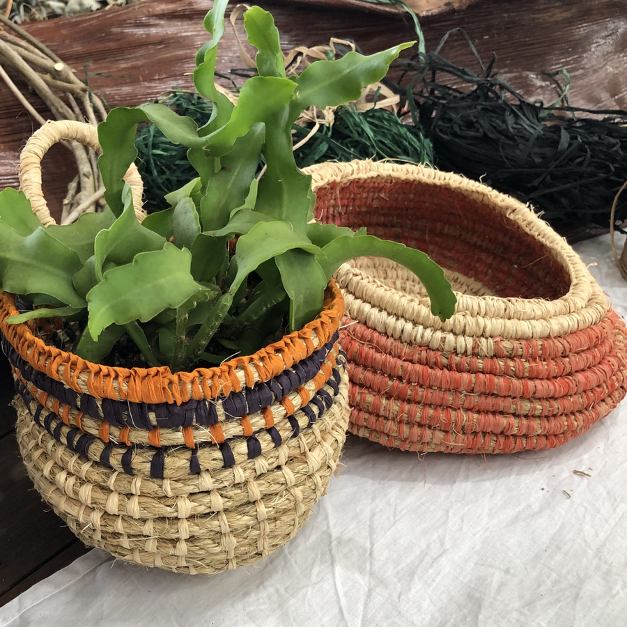 Mexican Basket Weaving Workshop (8 February 2020)