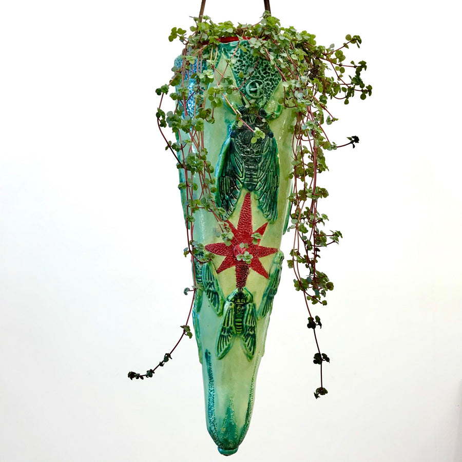 Jane du Rand Insect Hanging Planter - Large